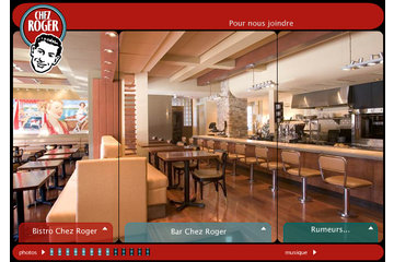 Bar Chez Roger à Montréal: espace....