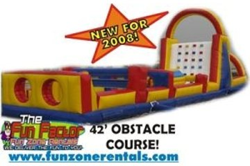 Fun Zone Party Rentals in Kamloops: Obstacle Course
