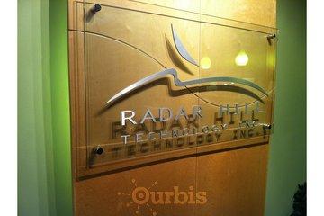 Radar Hill Web Design in Victoria: Main office sign