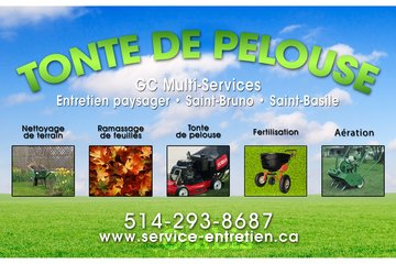 Tonte de pelouse St Bruno - GC multiservices