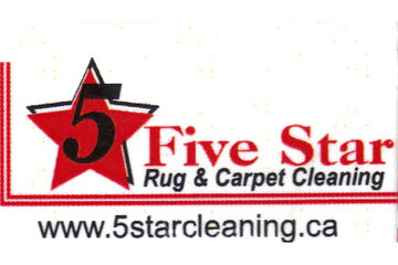 5 Star Cleaning, 24/7 Water Damage Restoration in Richmond Hill: Five Star Rug and Carpet Cleaning&24/7 Flood Emergency Logo