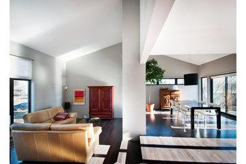 Réal Boulanger Design + Architecture in Saint-Jean-sur-Richelieu: Agrandissement et réaménagement salon, salle à manger