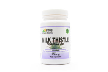 Westcoast Naturals in Richmond: Milk Thistle 250 mg 100 caps