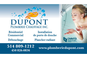 Dupont plomberie chauffage inc.