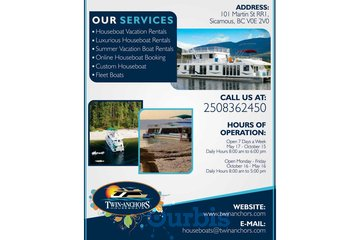 Build Your Custom Houseboat in Salmon Arm | Twin Anchors Houseboat Vacations
