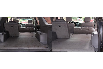 North Toronto Mobile Car Wash in Toronto: Carpets cleaned before and after