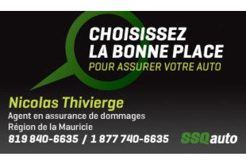 Nicolas Thivierge, agent en assurance de dommages affilié à SSQauto