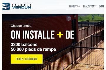 Balcons Verdun Longueuil Rive-Sud