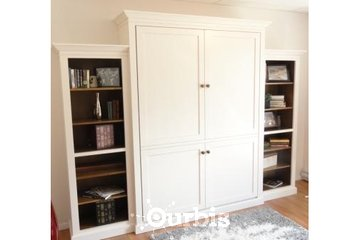 Island Murphy Beds & Closets in Victoria: Painted Maple Shaker