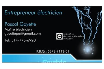 Entrepreneur Electricien Pascal Goyette