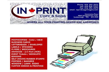 Inprint Copy And Signs
