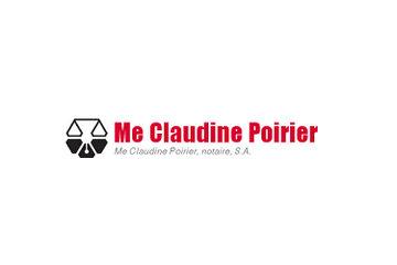 Me Claudine Poirier, notaire S.A.