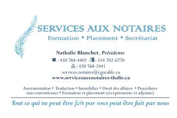 Services aux Notaires