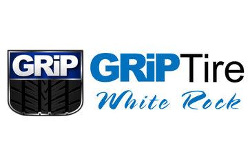 White Rock Grip Tire