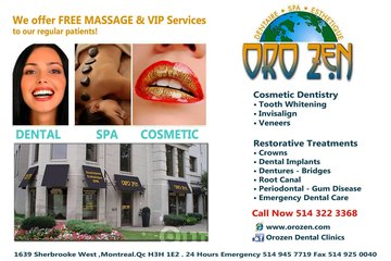 Orozen Dental Clinic Montreal