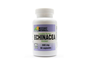 Westcoast Naturals in Richmond: Canadian Echinacea Standardized Extract 50 caps