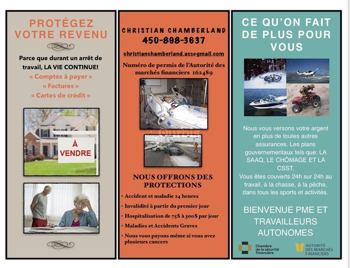 Carte Assurance Maladie Repentigny.Assurance Christian Chamberland Repentigny Qc Ourbis