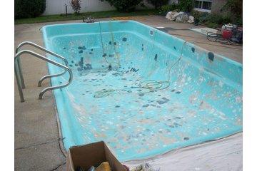 D.R.Concept  rbq 8003 3921 01 à Châteauguay: Réparation de piscine ( Avant )
