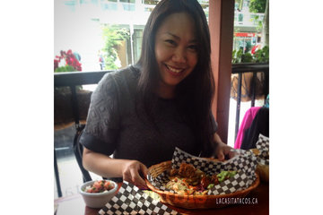 La Casita Tacos in Vancouver: Love eating with my hands at La Casita Tacos in West End Vancouver BC