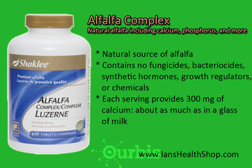 Shaklee Independent Distributor - Ian Paquette à calgary: Alfalfa Complex (Vegan)