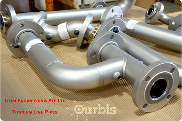 PT Special Metals Indonesia à Kingston: Titanium Metal Pipes and flanges