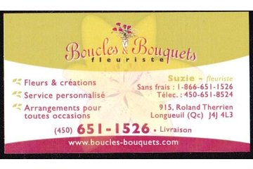 Boucles & Bouquets in Longueuil: Business Card - Picture to follow
