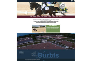 Outrageous Creations à Newmarket: Website developed for Cornerstone Farms in Mono, Ontario