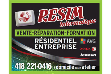 Resim Informatique in Saint-Georges: Enseigne