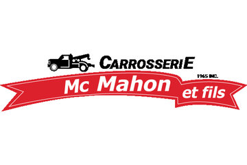 Carrosserie Mc Mahon & Fils 1965 inc à Nicolet: Le logo de la compagnie