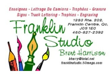 Franklin Studio Signs