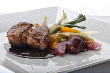 Auberge des Peupliers Cap-a-l'Aigle in La Malbaie: Gastronomie