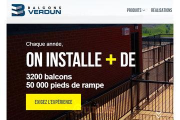 Balcons Verdun Pointe-Aux-Trembles