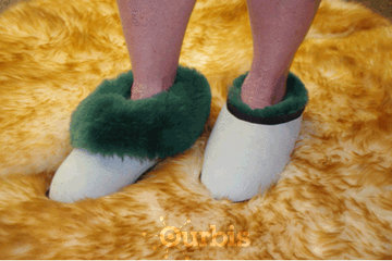 Australian Sheepskin Apparel in saskatoon: Medical Slippers (Moccasin Replacement)