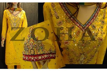 ZOHA South Asian Boutique in Mississauga: Mehndi Yellow