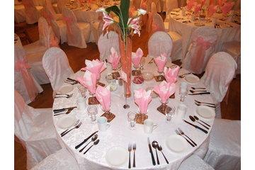 Chalet Du Ruisseau à Mirabel: Table mariage en blanc