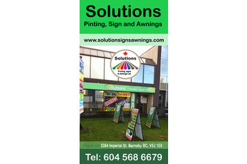 solutions printing, signs and awnings