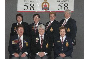 Legion Royale Canadienne - Filiale Pointe-Gatineau 58 à Gatineau: exécutif dames auxiliaires