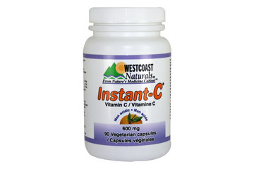 Westcoast Naturals in Richmond: Instant-C Vitamin C 600 mg 90 vcaps