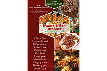 Mama Nita's Binalot   Grilled squid traditional Edmonton
