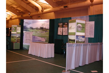 Dale Image & Display Solutions in Stittsville: Example of a Pop Up Booth Structure for a Display.