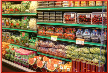 Marché Laurier à Montréal: Fruits frais de saison