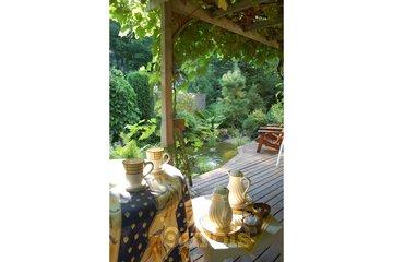 Au Saut Du Lit in Magog: Terrasse