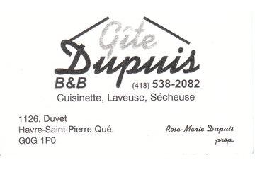 Gîte Dupuis B&B