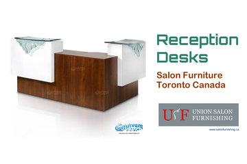 Union Salon Furnishing - Salon Reception Desk