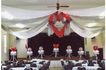 Tim's Party Centre in Bowmanville: Wedding decor