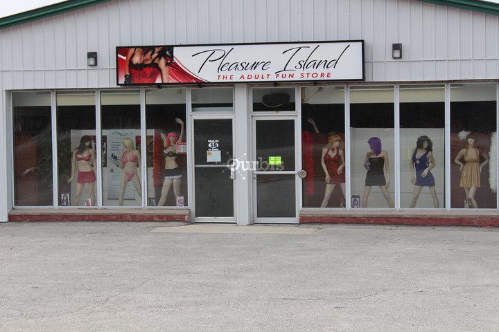 Pleasure adult store