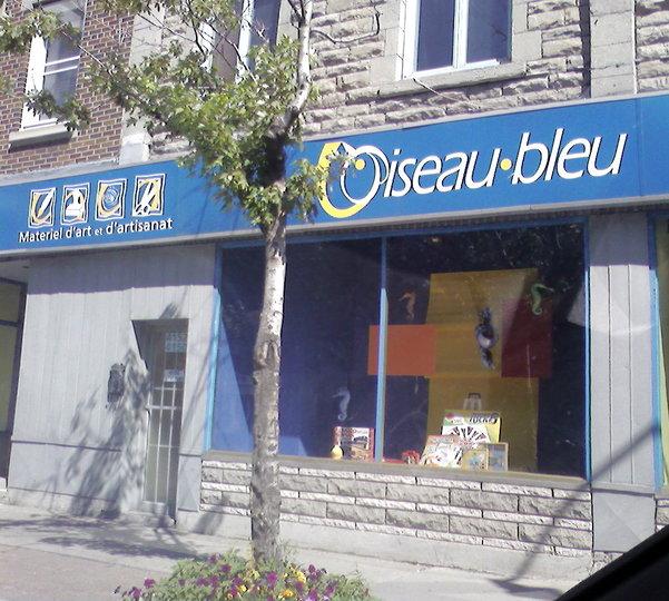L 39 oiseau bleu mat riel d 39 art et d 39 artisanat montr al qc - Artisanat d art hervet manufacturier ...