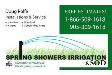 Spring Showers Irrigation in Flamborough