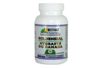 Westcoast Naturals in Richmond: GoldenSeal 500 mg 60 vcaps
