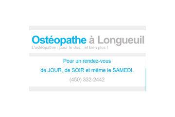 Ostéopathie familiale à Longueuil